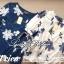 Lady Ribbon เสื้อปักลายดอกไม้ แต่งโบว์ สีครีม สีกรมท่า thumbnail 7