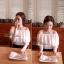 Lady Ribbon เสื้อเปิดไหล่สีขาว แต่งลูกไม้ระบายอก thumbnail 5