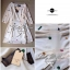 ASOS Mini Dress มินิเดรสปักลายเรขาคณิต กระโปรงทรง A-Ballet thumbnail 9