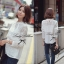 Lady Ribbon Pure White Lace Long-sleeve Blouse thumbnail 5