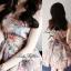 Lady Ribbon Vintage Dress เดรสชีฟอง ดีเทลหลังซีทรู thumbnail 5