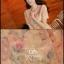 Ice Vanilla เดรสแขนสั้นทรงเข้ารูป ผ้าทอลายดอก โทนสีส้มพาสเทล thumbnail 8