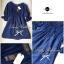 Lady Ribbon Dolly Mini Dress เดรสสีกรมท่า เเขนตุ๊กตา thumbnail 10