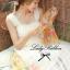 Lady Ribbon Sweet Lace Maxi Dress เดรสยาวผ้าลูกไม้สีครีม thumbnail 7