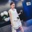Seoul Secret Whity Layer Lace Dress thumbnail 5