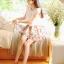 Cherry KOKO Sweet Floral Set ชุดเสื้อ กระโปรงผ้าชีฟอง พิมพ์ลายดอกไม้ thumbnail 1