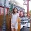 Ivory Knit Mini Dress มินิเดรสไหมพรม สีโทนอ่อน thumbnail 2