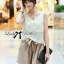 Lady Ribbon Lady Summer Playful Chic Layered Jumpsuit thumbnail 5
