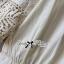 Lady Ribbon Cotton Lace Shirt เชิ้ตตัดต่อผ้าลูกไม้สุดหวาน thumbnail 11