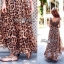 Lady Ribbon Sassy Leopard Maxi เดรสชีฟอง ลายเสือดาว thumbnail 5