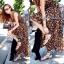 Lady Ribbon Sassy Leopard Maxi เดรสชีฟอง ลายเสือดาว thumbnail 6