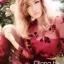 Cliona ชุดเซ็ทเสื้อผ้าแก้ว ลายดอกไม้ดำ พร้อมเกาะอกและกระโปรง thumbnail 3