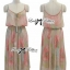 Lady Ribbon Colourful Chiffon Pleated Maxi Dress thumbnail 10