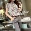 Seoul Secret ชุดเซ็ทเสื้อกางเกงเข็มขัด thumbnail 5