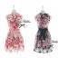 Lady Ribbon Rosalyn Dress เดรสลายดอกไม้ พร้อมริบบิ้นผูกเอว thumbnail 9