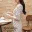 Icevanilla Vince 3D Floral Lace Dress thumbnail 5
