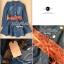 Lady Ribbon Denim Dress เดรสเชิ้ต ผ้ายีนส์ พร้อมเข็มขัด thumbnail 12