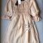 Lady Ribbon Dolly Mini Dress เดรสสีกรมท่า เเขนตุ๊กตา thumbnail 12