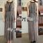 Lady Ribbon Maxi Dress เดรสยาวผ้าชีฟองผ่าข้าง ขายพร้อมเข็มขัด thumbnail 8