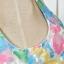 Cherry KOKO เดรสผ้าแก้วปักไหมพรมลายดอกไม้ พร้อมเข็มขัดหนัง thumbnail 7