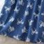 Icevanilla Unicorn Chic Denim Stitch Pearl Dress thumbnail 9
