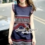 Seoul Secret Chic Navy Bohe Mini Dress thumbnail 3