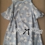 Lady Ribbon Cut-Out Floral Print Baby Blue Flared Dress thumbnail 10