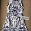 Lady Ribbon Lady Paula Glamorous Chic Italian Print Dress thumbnail 9