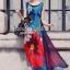 Seoul Secret Silky DKNY Maxi Dress thumbnail 1