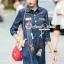 Seoul Secret Nifty&Chic Denim Dress Shirt thumbnail 5
