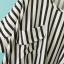 เสื้อผ้าชีฟองเนื้อผสม พิมพ์ลายทางสีดำ มีกระเป๋าหน้า thumbnail 4