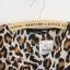 เดรสผ้าชีฟอง พิมพ์ลาย Leopard สีน้ำตาล thumbnail 8
