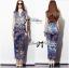 Lady Ribbon Chinoise Floral Printed Sleeveless Shirt Jumpsuit thumbnail 4