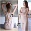 Lady Ribbon Jersey Cut-Out Twisted Knot Maxi Dress thumbnail 3