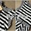 Lady Ribbon Lady Charlies Mix Striped Monochrome Dress thumbnail 10