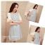 Marsh Mallow Mona Jewel & Beaded Stitching Dress thumbnail 9