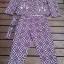 Violet Style Set ชุดเซ็ทเสื้อสูท กางเกงขายาวเจ็ดส่วน โทนสีม่วง thumbnail 5