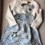 Lady Ribbon Feminine Princess Swan Embroidered Dress thumbnail 9
