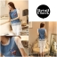 Icevanilla Star Stitching Lace Bottoming Denim Dress thumbnail 10