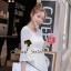 Seoul Secret เสื้อผ้าชีฟองเนื้อทราย สีขาว สีดำ แต่งเลื่อมสีเงิน thumbnail 5