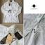 Lady Ribbon Shirt เสื้อเชิ้ตสีขาว แต่งผ้าลูกไม้น่ารัก thumbnail 8