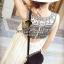 Seoul Secret Black Tone Embroidered Breast Luxury Dress thumbnail 5