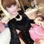 Sparkling Black Dress เดรสสีดำ ปักเลื่อม สุดไฮโซ thumbnail 1