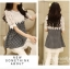 IceVanilla Dress เดรสลาย Shinori แต่งผ้าลูกไม้ thumbnail 5