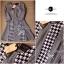 Lady Ribbon Shinori Dress เดรสแขนสามส่วน ลายชิโนริ ขอบหยัก thumbnail 8