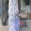 Lady Ribbon Maxi Dress เดรสยาวแขนกุด พิมพ์ลายเพสลีย์ thumbnail 3