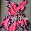 Lady Ribbon Lady Rose Sweet Pink Mini Dress thumbnail 6