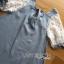 Lady Ribbon Lace-Sleeve Mini Dress with Ribbon thumbnail 7