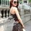 Odee Cutie Bohemian Maxi Dress แม็กซี่เดรสสายเดี่ยวสไตล์ vintage thumbnail 2