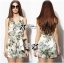 Lady Ribbon Spring Floral Graphic Painting Jumpsuit thumbnail 6